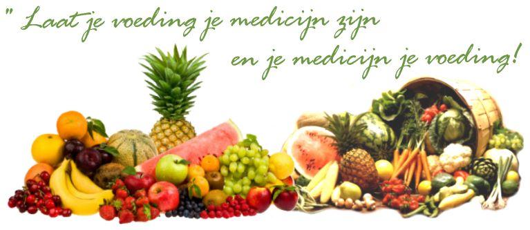 laat je voeding je medicijn zijn