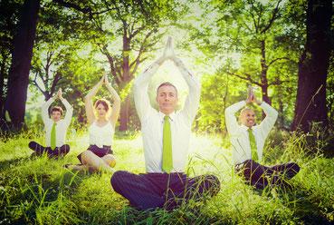 yoga voor bedrijven - bedrijfsyoga